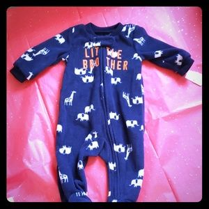 *NEW*Carter's Baby Boy Newborn Fleece PJ